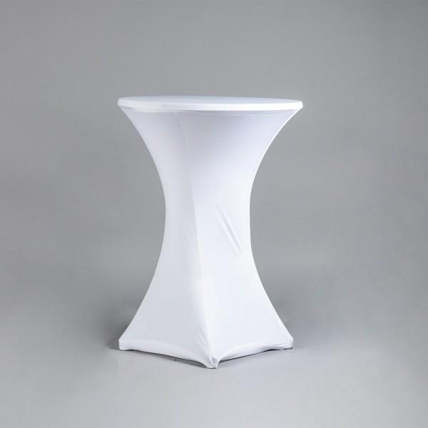 Stehtischhusse (weiß, stretch)