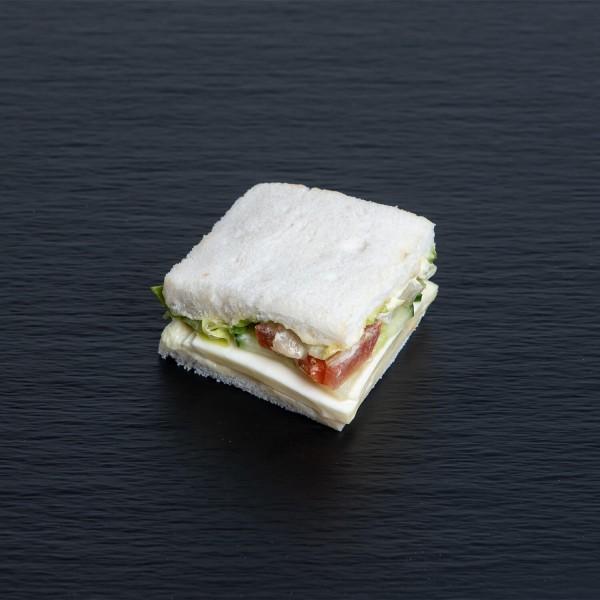 Tramezzini mit Käse