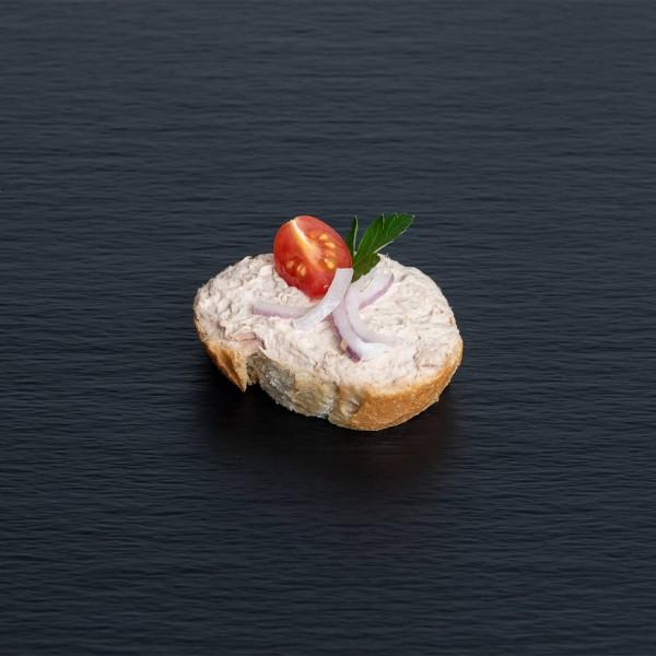 Bruschetta mit Thunfisch-Crème