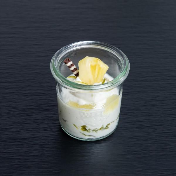 Crème vom Griechischen Joghurt