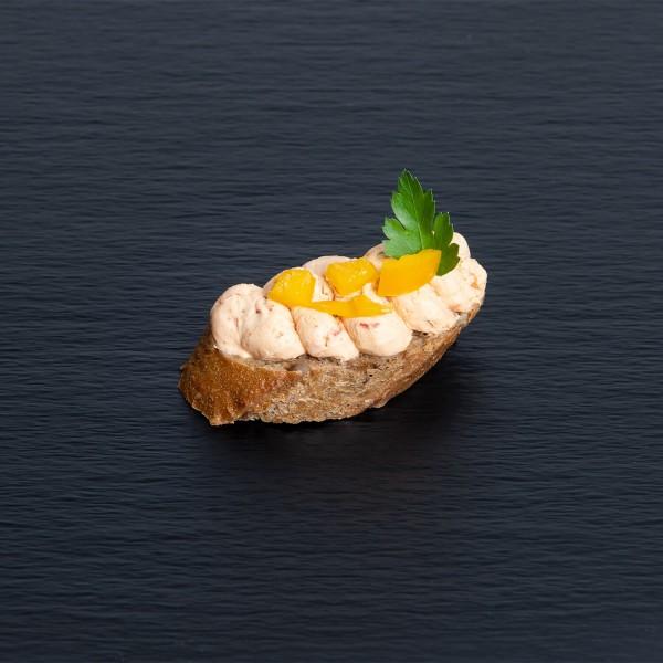 Bruschetta mit Tomaten-Frischkäse