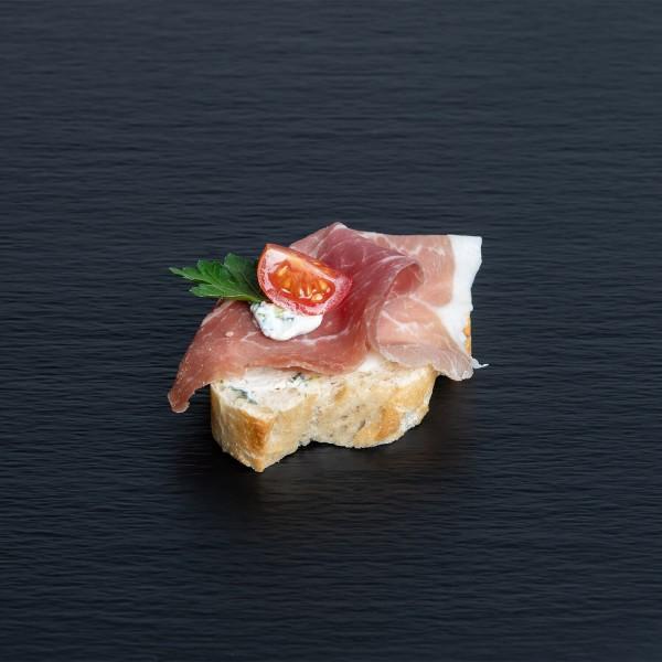 Bruschetta mit Parmaschinken